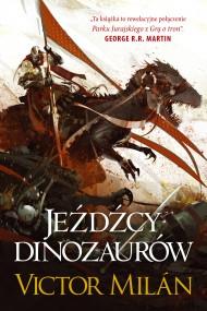 okładka Jeźdźcy dinozaurów, Ebook | Michał Jakuszewski, Victor  Milan