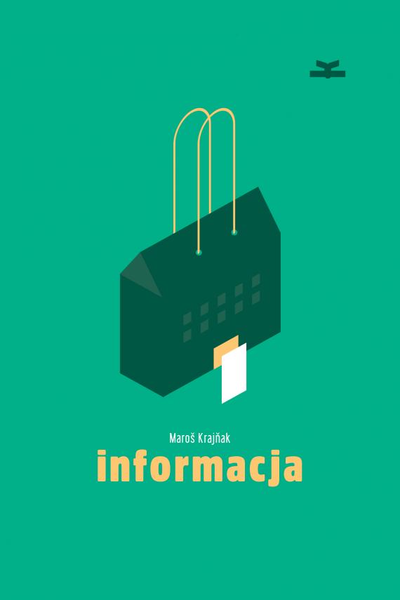 okładka Informacjaebook | EPUB, MOBI | Maroš  Krajňak, Weronika Gogola