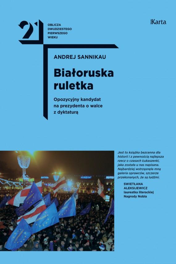 okładka Białoruska ruletkaebook | EPUB, MOBI | Michał Jagiełło, Andrej Sannikau