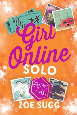 okładka Girl Online solo, Ebook   Zoe Sugg, Olga Siara