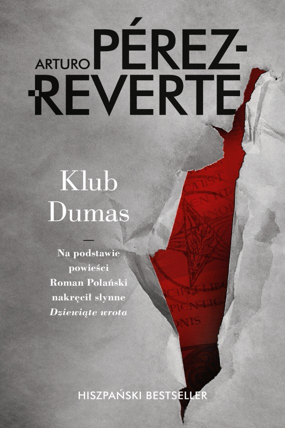 okładka Klub Dumasebook | EPUB, MOBI | Arturo Perez-Reverte