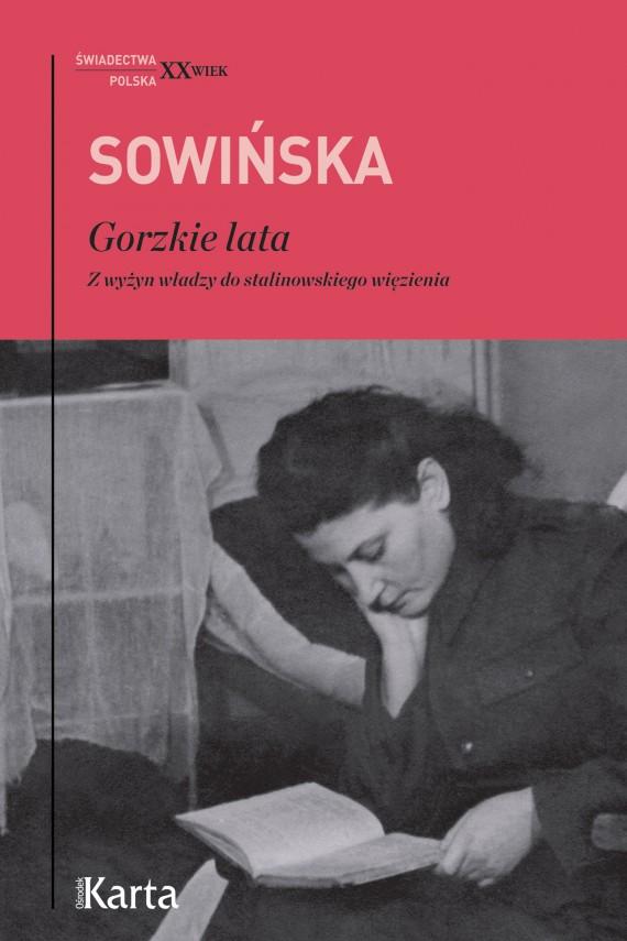 okładka Gorzkie lata. Ebook | EPUB, MOBI | Stanisława Sowińska