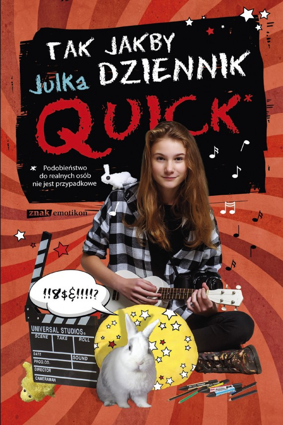 okładka Tak jakby dziennikebook   EPUB, MOBI   Julka Quick