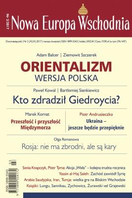 okładka Nowa Europa Wschodnia 2/2017, Ebook | Autor zbiorowy Autor zbiorowy