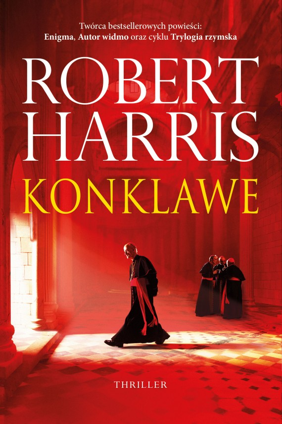 okładka Konklaweebook   EPUB, MOBI   Robert Harris, Andrzej Szulc