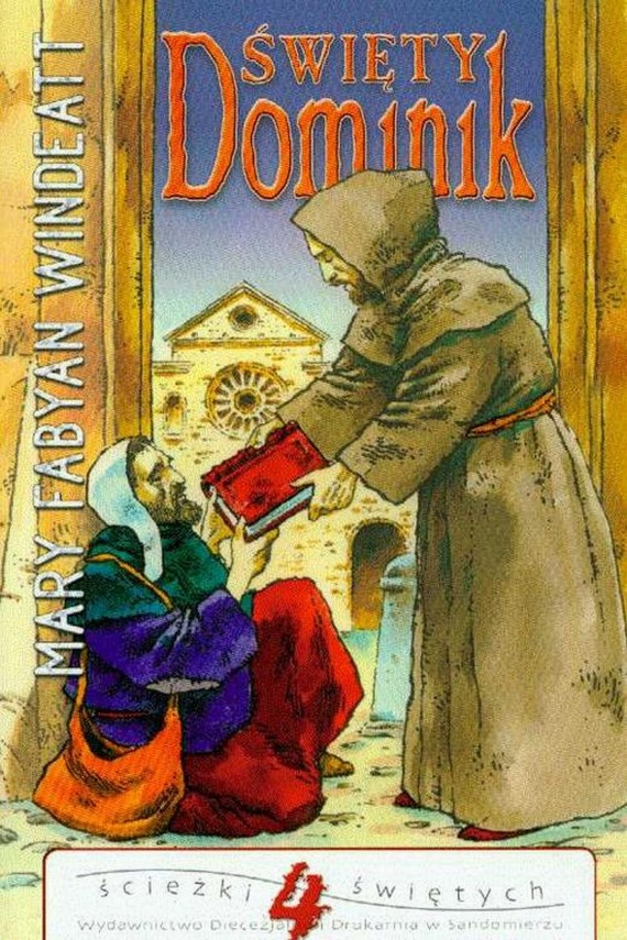 okładka Święty Dominik. Ebook | EPUB, MOBI | Mary  Windeatt-Fabyan