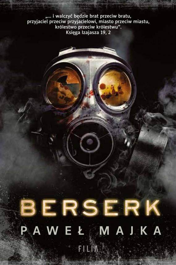 okładka Berserkebook | EPUB, MOBI | Paweł Majka