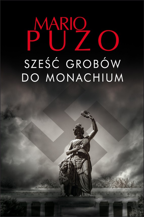 okładka Sześć grobów do Monachiumebook   EPUB, MOBI   Mario Puzo