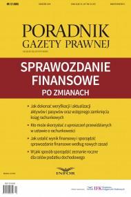 okładka Sprawozdanie finansowe po zmianach. Ebook | PDF | Praca zbiorowa