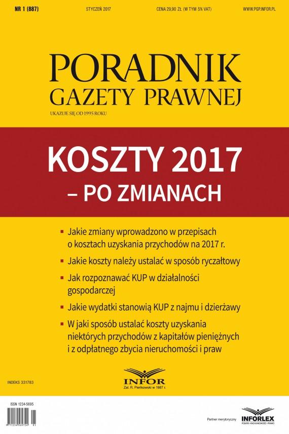 okładka Koszty 2017 – po zmianach. Ebook | PDF | Tomasz Krywan