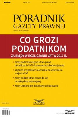 okładka Co grozi podatnikom za błędy w rozliczaniu VAT w 2017 r., Ebook   Tomasz Krywan