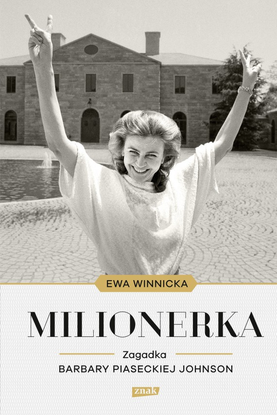 okładka Milionerka. Zagadka Barbary Piaseckiej-Johnson. Ebook | EPUB, MOBI | Ewa Winnicka