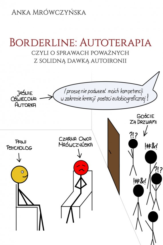 okładka Borderline: Autoterapia, czyli o sprawach poważnych z solidną dawką autoironii. Ebook   EPUB, MOBI   Anka Mrówczyńska