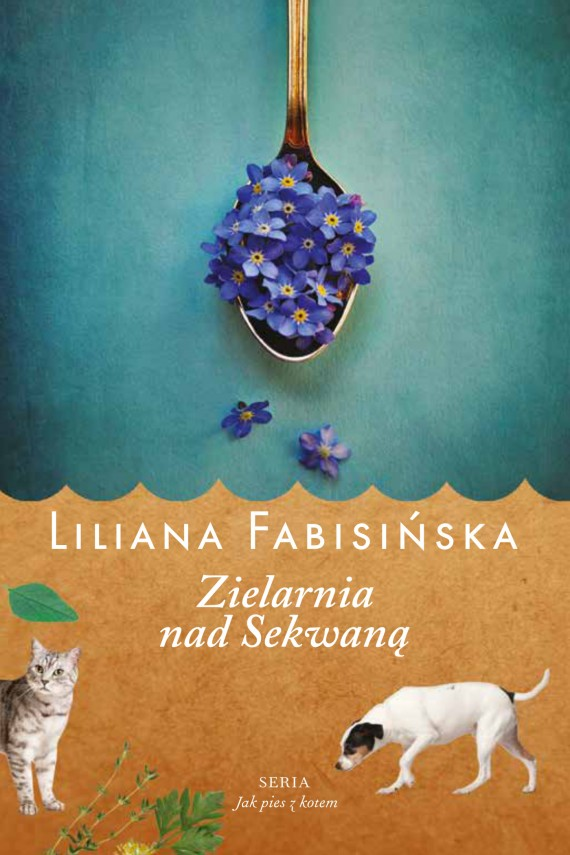 okładka Zielarnia nad Sekwaną. Ebook | EPUB, MOBI | Liliana Fabisińska