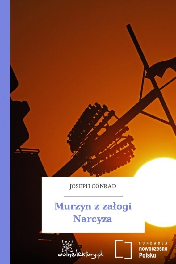 okładka Murzyn z załogi Narcyza. Ebook | EPUB, MOBI | Joseph Conrad