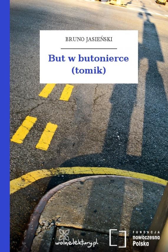 okładka But w butonierce (tomik). Ebook | EPUB, MOBI | Bruno Jasieński