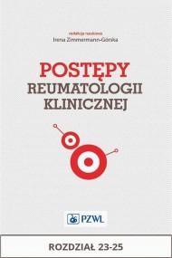okładka Postępy reumatologii klinicznej. Rozdział 23-25. Ebook | EPUB,MOBI | Praca zbiorowa
