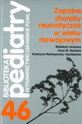 okładka Zapalne choroby reumatyczne w wieku rozwojowym, Ebook | Anna M.  Romicka, Katarzyna  Roztropowicz-Denisiewicz