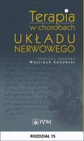 okładka Terapia w chorobach układu nerwowego. Rozdział 15, Ebook | Wojciech  Kozubski