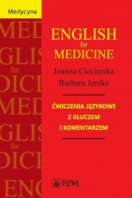 okładka English for Medicine, Ebook | Joanna  Ciecierska, Barbara  Jenike