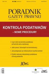okładka Kontrola podatników – nowe procedury. Ebook | PDF | Praca zbiorowa