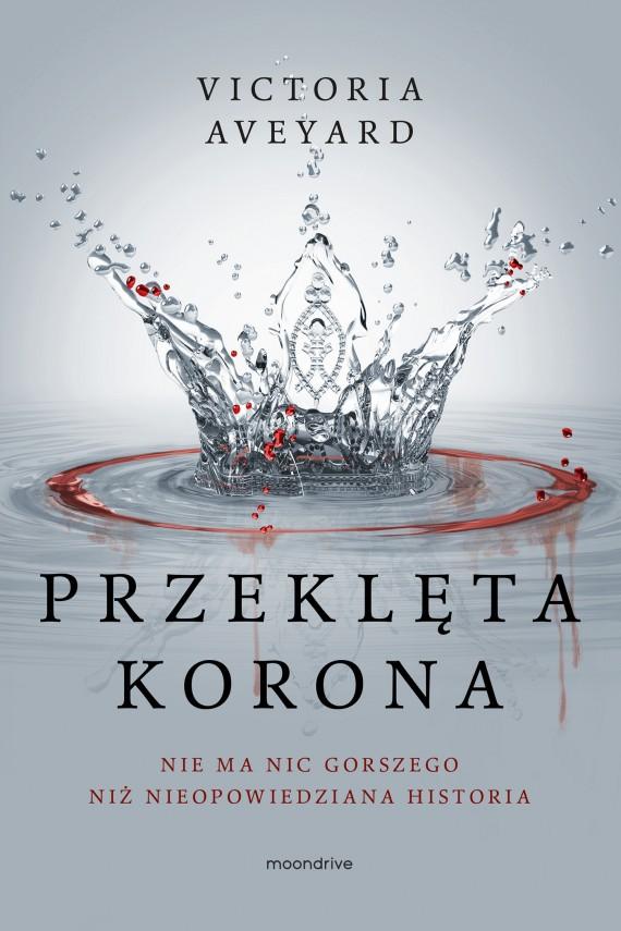 okładka Przeklęta korona. Ebook | EPUB, MOBI | Victoria Aveyard