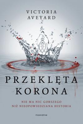 okładka Przeklęta korona, Ebook   Victoria Aveyard