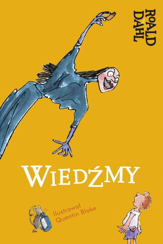 okładka Wiedźmy. Ebook | EPUB, MOBI | Roald Dahl