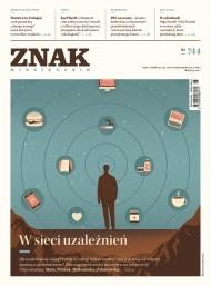 okładka ZNAK Miesięcznik nr 744: W sieci uzależnień. Ebook | EPUB,MOBI | autor zbiorowy