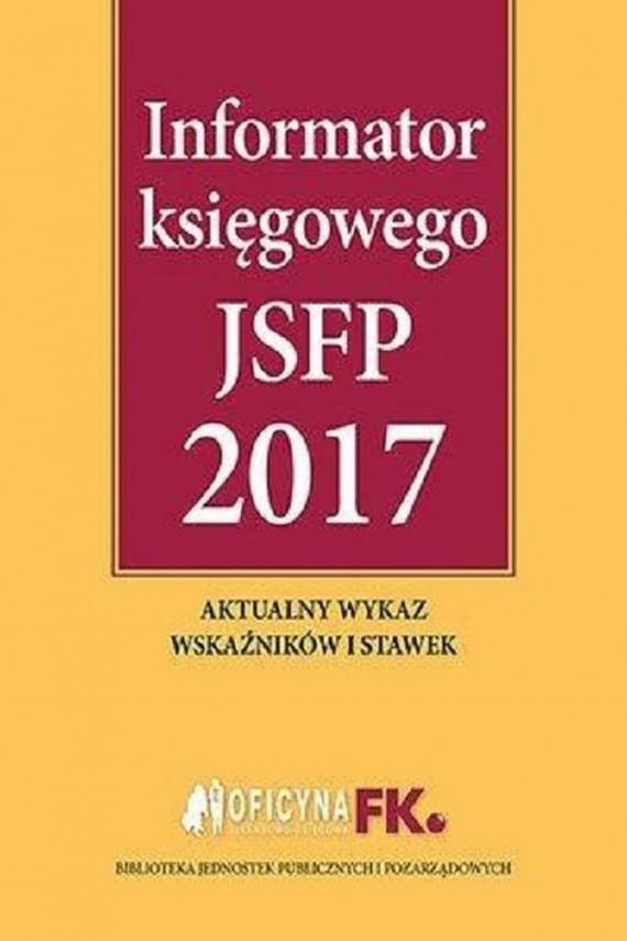 okładka Informator księgowego JSFP 2017ebook | PDF | Praca zbiorowa