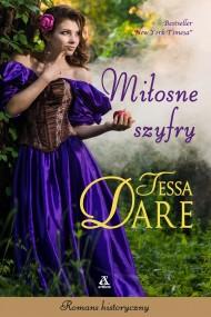 okładka Miłosne szyfry, Ebook | Tessa Dare, Agnieszka Dębska