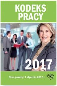 okładka Kodeks pracy 2017. Ebook | PDF | Praca zbiorowa