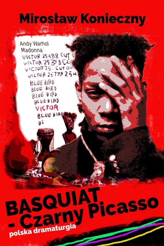 okładka Basquiat - Czarny Picassoebook | EPUB, MOBI | Mirek Konieczny