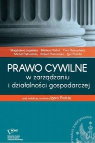 okładka Prawo cywilne w zarządzaniu i działalności gospodarczej, Ebook   Igor  Postuła