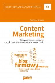 okładka Content Marketing, Ebook | Tomasz Stopka