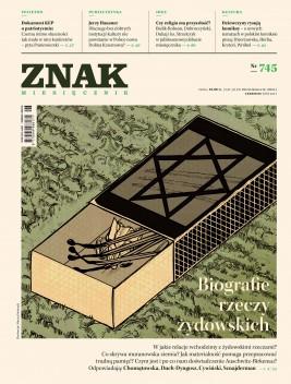 okładka ZNAK Miesięcznik nr 745: Biografie rzeczy żydowskich, Ebook | autor zbiorowy