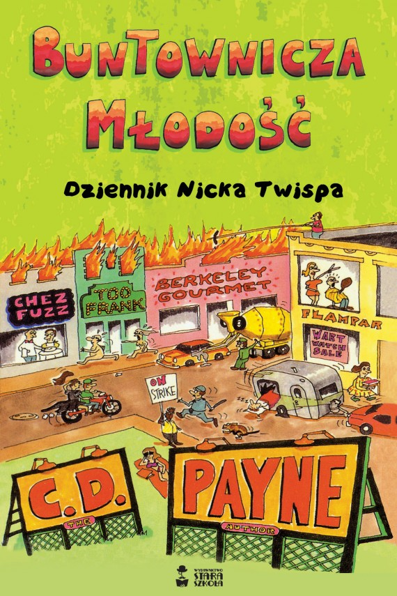 okładka Buntownicza młodośćebook | EPUB, MOBI | Mirosław  Śmigielski, C. D. Payne