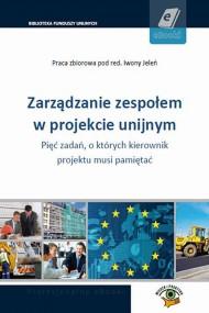okładka Zarządzanie zespołem w projekcie unijnym. Ebook | PDF | Praca zbiorowa