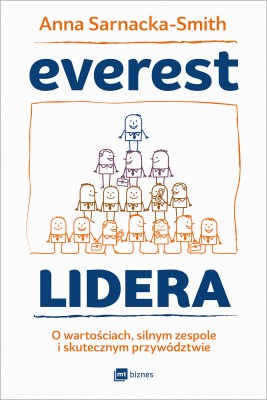 okładka Everest Lidera, Ebook | Anna Sarnacka-Smith
