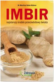 okładka Imbir Najstarszy środek przeciwbólowy świata. Ebook | papier | Martina  Hahn-Hübner