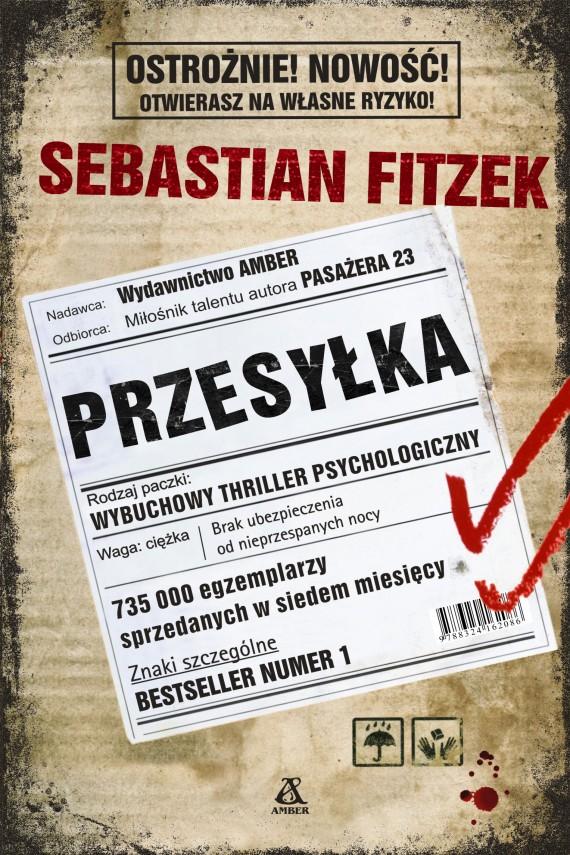 okładka Przesyłkaebook   EPUB, MOBI   Sebastian Fitzek, Barbara Tarnas