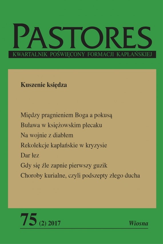 okładka Pastores 75 (2) 2017. Ebook | EPUB, MOBI | Zespół Redakcyjny