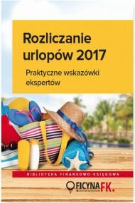 okładka Rozliczenia urlopów 2017. Ebook | PDF | Praca zbiorowa