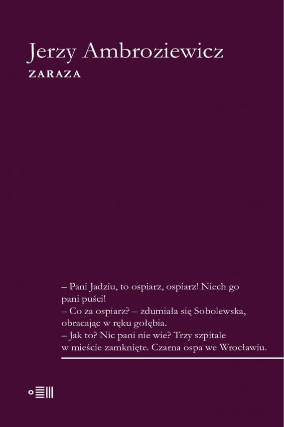 okładka Zarazaebook | EPUB, MOBI | Jerzy Ambroziewicz