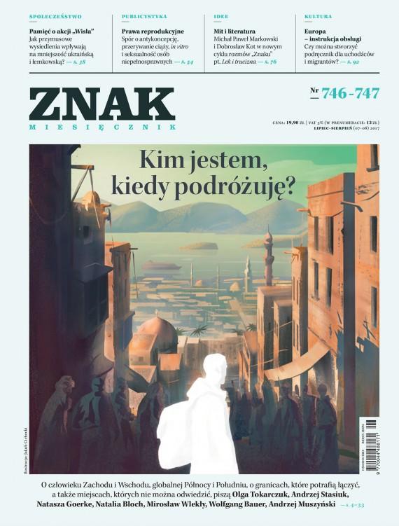 okładka Miesięcznik Znak nr 746–747: Kim jestem, kiedy podróżuję?ebook | EPUB, MOBI | autor  zbiorowy