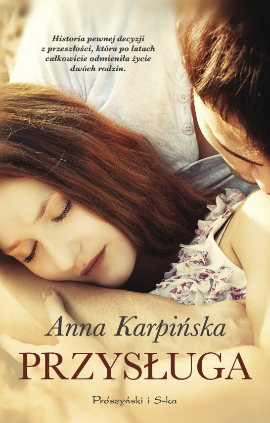okładka Przysługaebook | EPUB, MOBI | Anna Karpińska