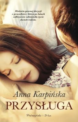 okładka Przysługa, Ebook | Anna Karpińska