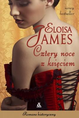 okładka Cztery noce z księciem, Ebook | Eloisa James