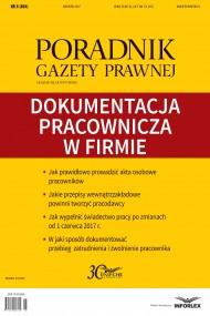 okładka Dokumentacja pracownicza w firmie. Ebook | PDF | Praca zbiorowa