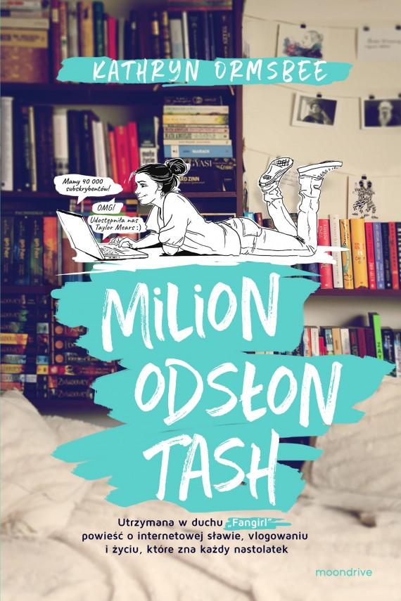 okładka Milion odsłon Tashebook | EPUB, MOBI | Kathryn Ormsbee